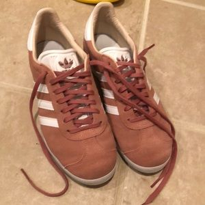 Adidas Gazelle pink sneakers WORN ONCE